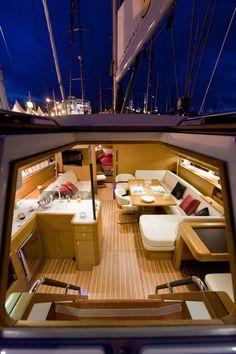 Pherusa II new Jeanneau 53 owner's version in our fleet 2013