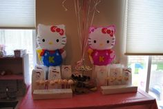 favors for Hello Kitty birthday party