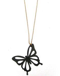 Colgante Mariposa. Precio: 15,95 € #colgante #pendant #complementos #moda #mujer #locasderemate