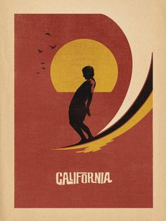 1a781c4ac6 California Surf by Aaron von Freter
