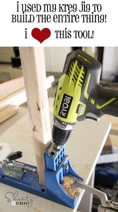 Love this as it is a great tutorial for building a chest of drawers using a Kreg Jig - it is not advertising the jig, just a tutorial by someone that loves using her jig!