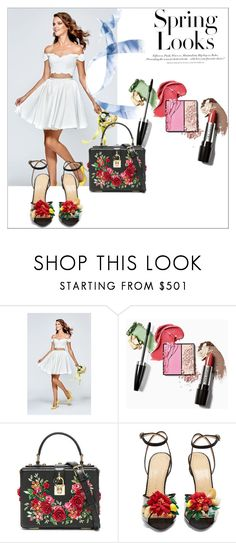 """Spring Trends; Bright Colors!"" by newyorkdressonline ❤ liked on Polyvore featuring Tarik Ediz, Dolce&Gabbana, Charlotte Olympia and H&M"