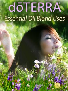 This has a handy chart of how to use the doTERRA blends
