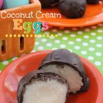 Chocolate Dipped Coconut Cream Eggs - Raining Hot Coupons