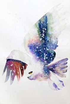 Poetic Watercolor Birds – Fubiz Media