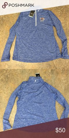 Memphis Tigers Nike Women's Pullover Jacket XL Brand new with tags  officially licensed Memphis Tigers Nike