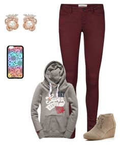 """Sans titre #567"" by harrystylesandliampayne ❤ liked on Polyvore featuring Vero Moda, TOMS, Forever 21 and Anabela Chan"