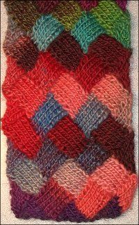 Have you always wanted to learn about knitting entrelac stitches? This interesting style of knitting adds a great texture and look to all of your knitting projects.