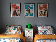 My boys' star wars bedroom!