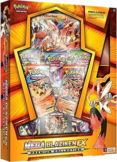 Pokemon TCG Mega Blaziken EX Evolution Premium Collection...