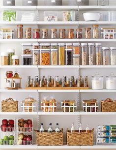 "Want! - ""pantry dreams do come true"" from The Container Store"