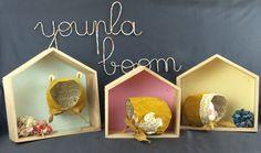 Béguins enfant velours jaune #handmade #madeinfrance #youpaboombyfl #oekotex