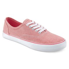 Women's Layla Canvas Sneakers - Red 10