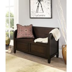 WYNDENHALL Hampshire Entryway Storage Bench | Overstock.com Shopping - The Best Deals on Benches