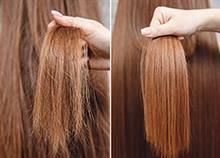 Looking for ways to fix dry, damaged, and frizzy hair? We've compiled the BEST home remedies for dry and frizzy hair - tried, tested and true! At Home Keratin Treatment, Keratin Treatments, Hair Treatments, Reduce Hair Fall, New Hair Growth, Growth Oil, Keratin Hair, Hair Straightening, Smooth Hair