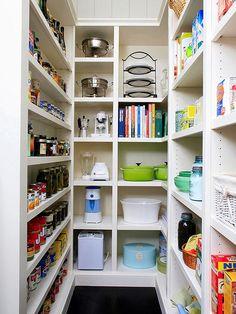 * Decoração e Invenção *: Organizando a cozinha e despensa