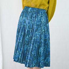 VIN-SKI-04919 Vintage πλισέ φούστα S-XL Vintage Skirt, Tie Dye Skirt, Skirts, Fashion, Moda, Fashion Styles, Skirt, Fashion Illustrations