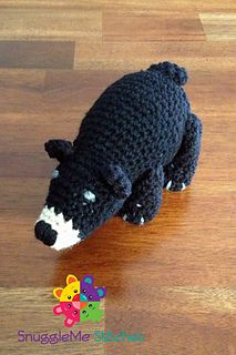 Winston the Bear by Snuggleme Stitches