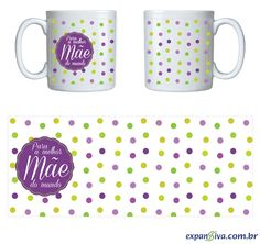Canecas personalizadas em Porto Alegre Girly M, Tupperware, Notebook, Mugs, Tableware, Balloon Cake, Original Gifts, Pictures, Art