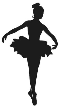 "6"" Ballerina Decal on Etsy, $8.00"
