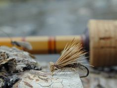 This elk hair caddis offers lots of buoyancy for a nice long drift.