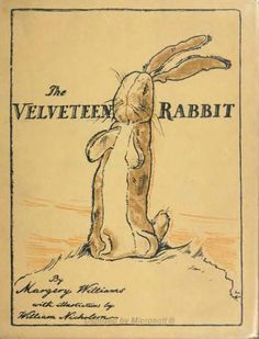 The Velveteen Rabbit - quotes to live by