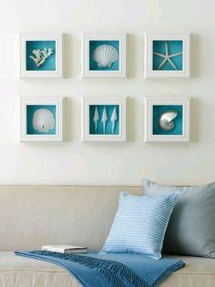 Turquoise & white | home decor, frames