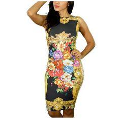 969-Ofes-Fashion-Ladies-Trendy-Unique-Bodycon-Dress-Versa-Floral-Print-Multi-Color-for-Women-1.jpg (510×510)