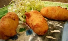 Croquetas Merluza Seafood Recipes, Mexican Food Recipes, Ethnic Recipes, Decadent Cakes, Good Healthy Recipes, Antipasto, What To Cook, Fish And Seafood, International Recipes