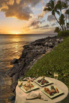 Sea House Restaurant Recipes Dinner Menu West Maui Sunset