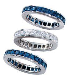 Diamond Stacking Rings | K  W Jewelry - Kestenbaum  Weisner