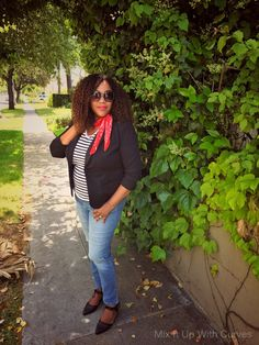There are pieces that I keep going back to. A tee, a blazer, and jeans is one of those combinations. And that's what we are Mixing Up in this post. My hubby and I were recently out and about …