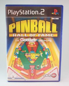 #Pinball #Hall #of #Fame #Sony #Playstation #2 #PS2 #Spiel