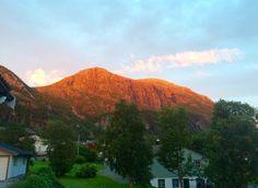 Закат в Норвегии 🤗