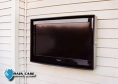 Rain proof, dent proof, everything proof case for an outdoor TV. Perfect for decks, porches and patios! Outdoor Rooms, Outdoor Fun, Outdoor Gardens, Outdoor Living, Outdoor Tv Case, Outdoor Tv Covers, Back Patio, Backyard Patio, Pergola Patio