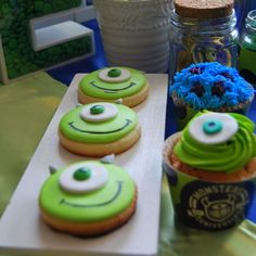 Monsters Inc. Birthday Party Ideas | Photo 8 of 20 | Catch My Party