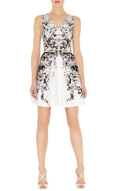 Dresses | Multi Oriental print prom dress | KarenMillen Stores Limited