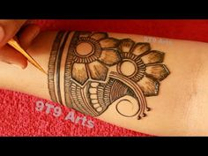 Simple Stylish & Easy Full Hand Dulhan Mehndi Design | New Floral Mehndi Designs for Hand | 9T9 Arts - YouTube Latest Arabic Mehndi Designs, Latest Bridal Mehndi Designs, Full Hand Mehndi Designs, Stylish Mehndi Designs, Mehndi Designs 2018, Henna Art Designs, Mehndi Designs For Beginners, Mehndi Designs For Girls, Wedding Mehndi Designs