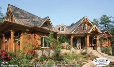 Now I'm really dreaming... ;) Nantahala Cottage House Plan   House Plans by Garrell Associates, Inc