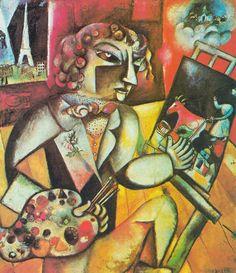 Chagall - Autoritratto con sette dita