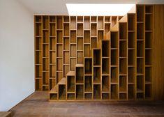 Boekenkast + trap = boekenkasttrap
