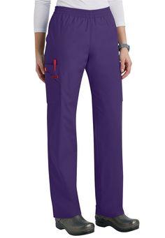 Dickies EDS Signature elastic waist cargo scrub pants | #scrubsandbeyond #nurses