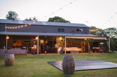 Shed Reception Wedding. Farm Wedding at Solitaire homestead. Merge photography