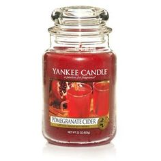 Yankee Candles | Yankee Candle | Pomegranate Cider Large Jar