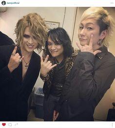 Kamijo instagram. That smile...