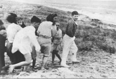 Skede, Latvia, Jewish children before their execution by Einsatzgruppe A and Latvian collaboratores, Lest We Forget, Persecution, Historical Photos, World War Ii, Ww2, The Past, Israel, Image, History
