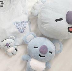 Rilakkuma Plush, Theme Bts, Light Blue Aesthetic, Korean Aesthetic, Line Friends, Kpop Merch, Cute Disney, Cute Dolls, Bts Wallpaper