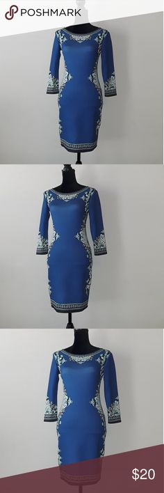 Women dresses This dress would be great to wear to the office, Beautiful dress stretchy material,Overall in perfect condition.  -Length 35in-long Dainty Hooligan Dresses Midi