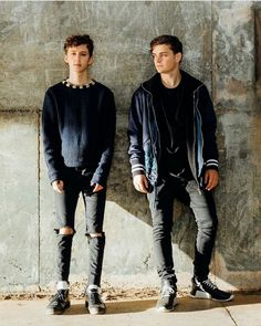 Martin with Troy Sivan for there for you music video Pinterest ||@sharayupatil