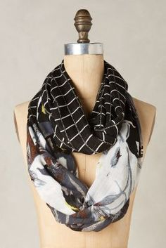 Anthropologie Sahira Infinity Scarf #anthrofave